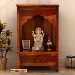 Sanjeevani Home Temple (Honey Finish)