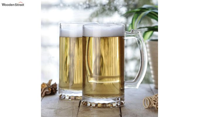400 ML High Quality Beer Mugs - Set of 2-1