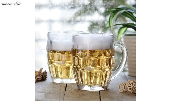 400 ML Premium Quality Beer Mugs - Set of 2-1