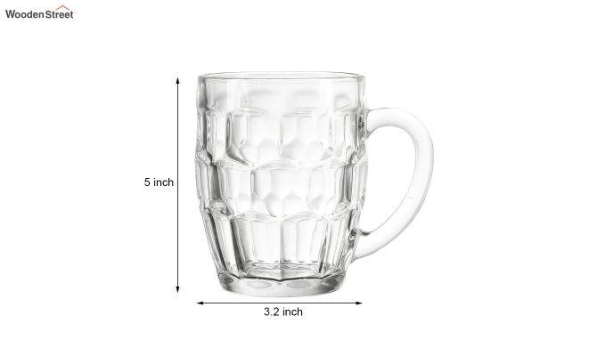 400 ML Premium Quality Beer Mugs - Set of 2-4