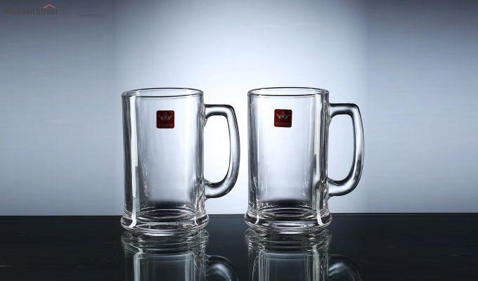 Premium Quality 420 ML Beer Mugs - Set of 2-2