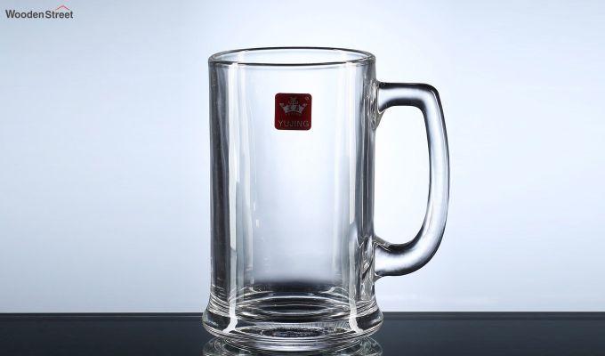 Premium Quality 420 ML Beer Mugs - Set of 2-3