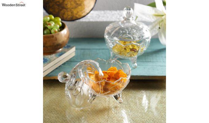 200 ML Glass Serving Bowls - Set of 2-1