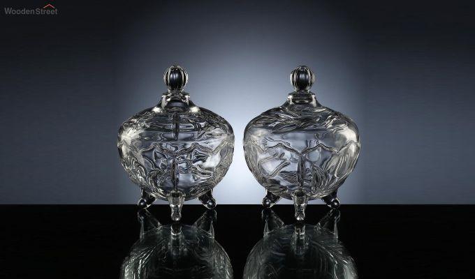 200 ML Glass Serving Bowls - Set of 2-2