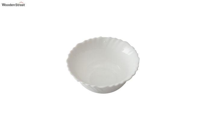 Opalware 4.5 inches Veg Bowls - Set of 6-4