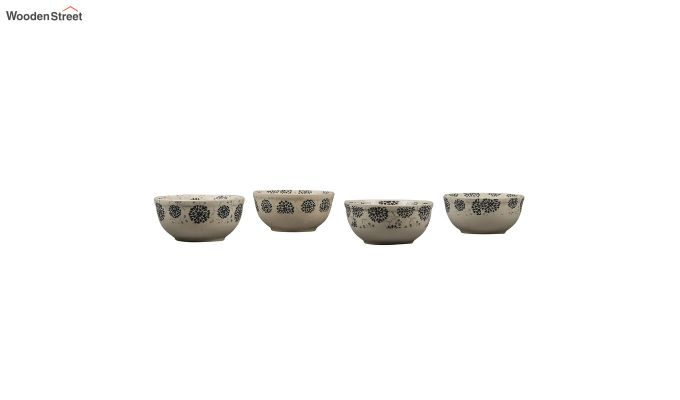 Stoneware 250 ML Serving Bowls - Set of 4-2