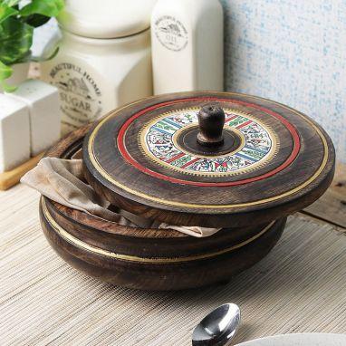 wooden casserole set best price