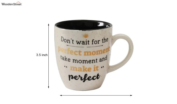 250 ML Ceramic Coffee Mugs - Set of 6-6