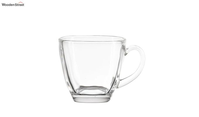 180 ML Glass Square Cups - Set of 6-3