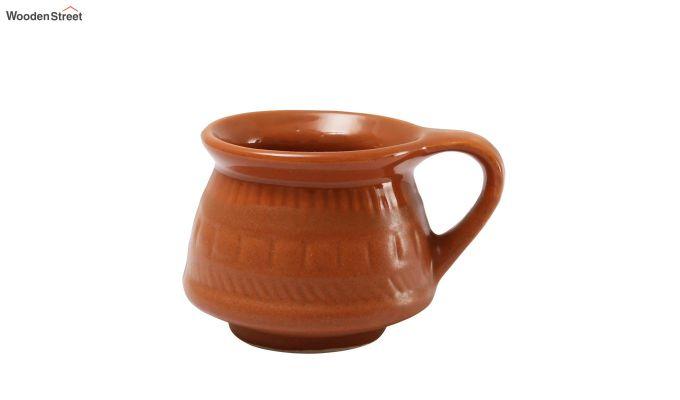 Ceramic Brown 100 ML Cups - Set of 6-4