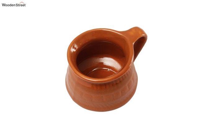 Ceramic Brown 100 ML Cups - Set of 6-5