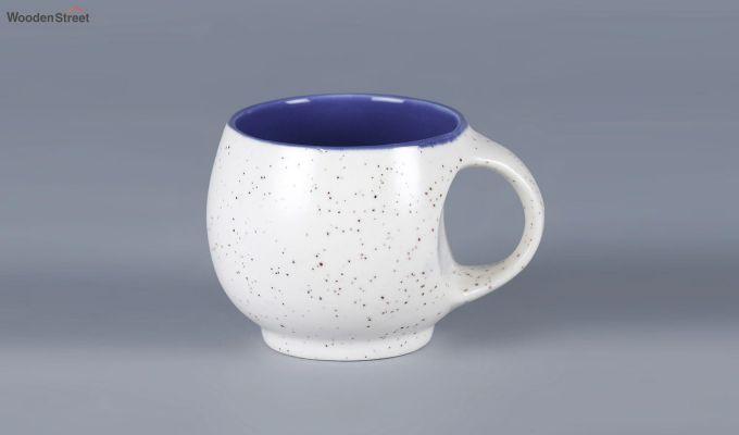Ceramic White 180 ML Cups - Set of 6-4