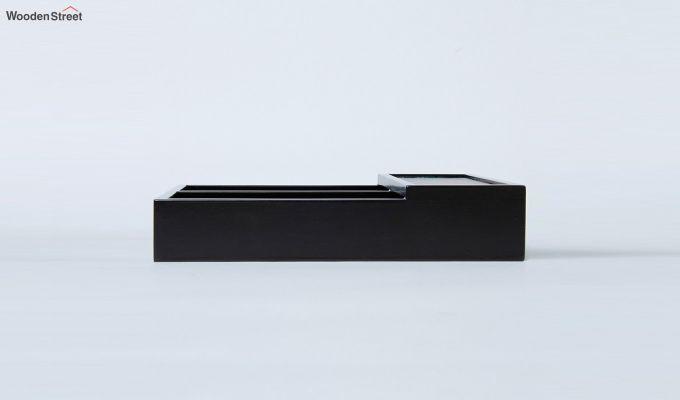 Black Wooden Cutlery Holder-4