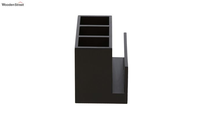 Multipurpose Black & White MDF Cutlery Holder-3
