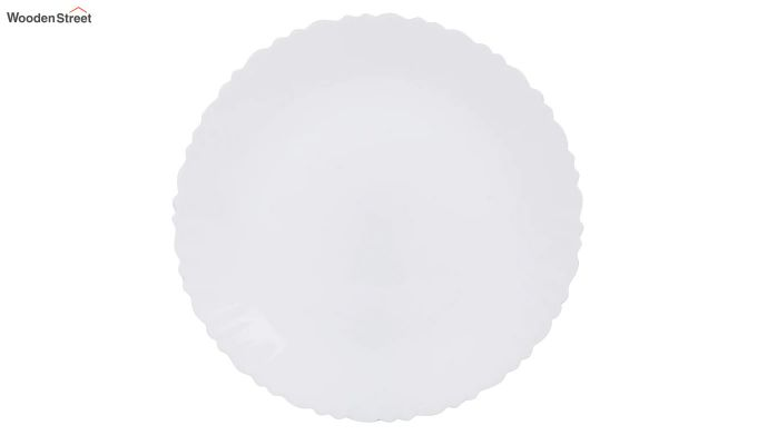 Opalware White Dinner Set - 15 Pieces-3