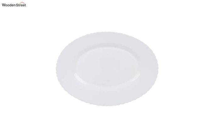 Opalware White Dinner Set - 15 Pieces-4