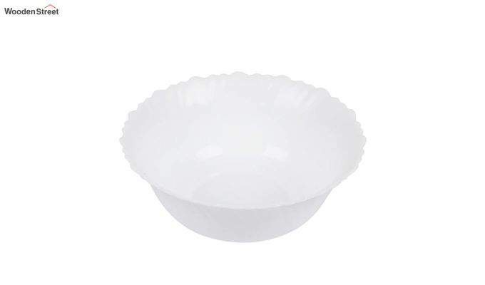 Opalware White Dinner Set - 15 Pieces-5