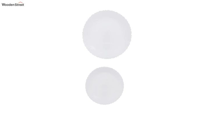Opalware White Dinner Set - 19 Pieces-3