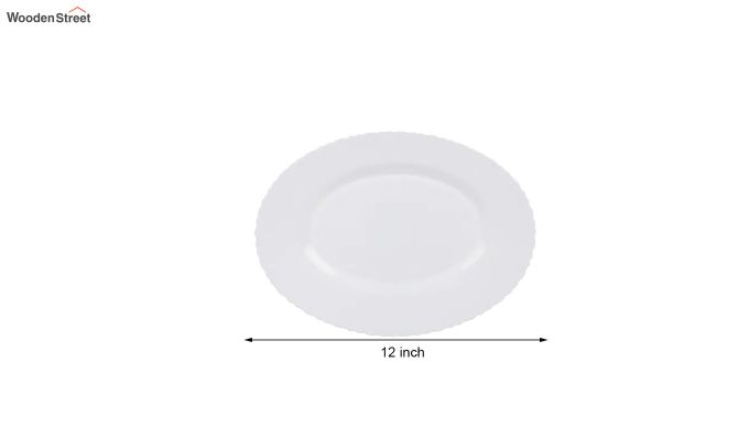 Opalware White Dinner Set - 19 Pieces-5