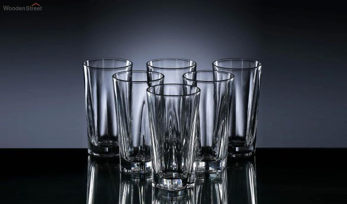 220 ML Ora High Quality Everyday Glasses - Set of 6-2
