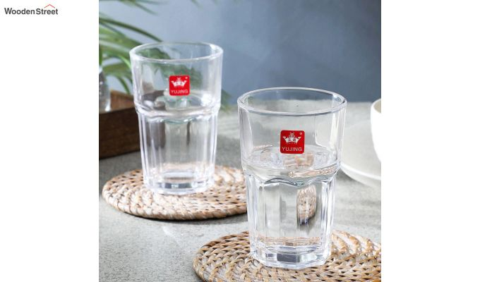 300 ML High Quality Everyday Glasses - Set of 6-1