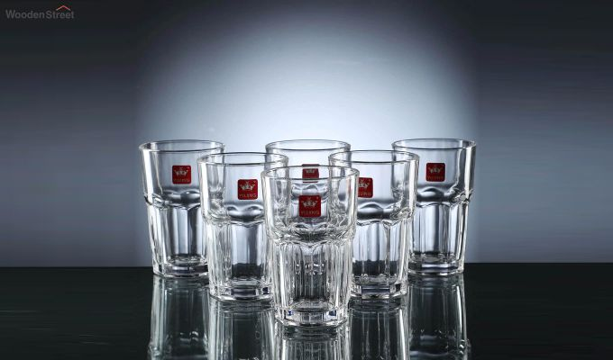300 ML High Quality Everyday Glasses - Set of 6-2