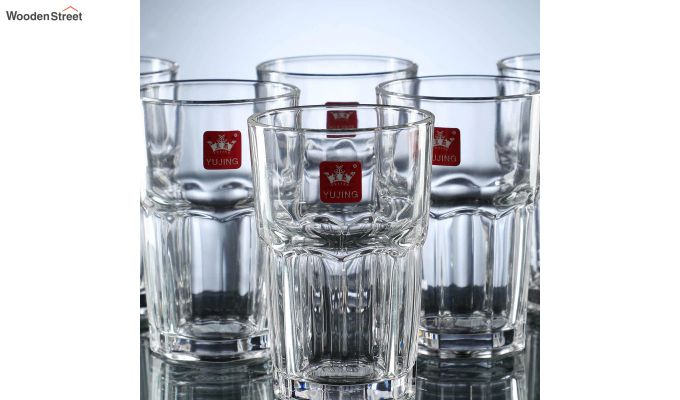 300 ML High Quality Everyday Glasses - Set of 6-4