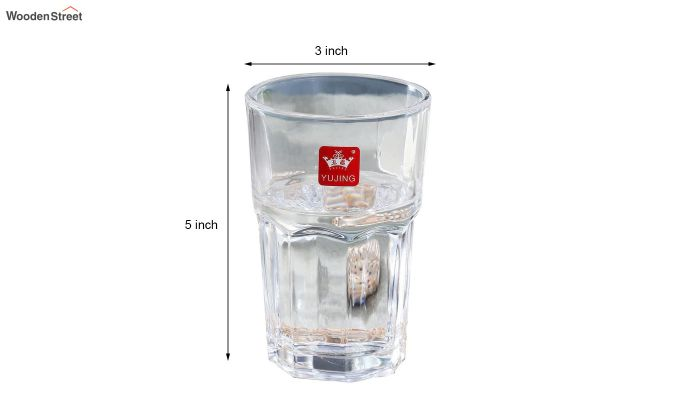 300 ML High Quality Everyday Glasses - Set of 6-5