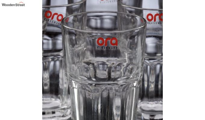 350 ML Ora Premium Quality Everyday Glasses - Set of 6-4