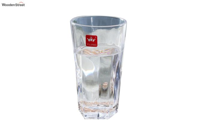 350 ML Plain Everyday Glasses - Set of 6-3
