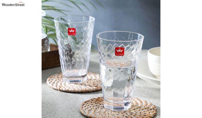 400 ML Bubble Shaped Everyday Glasses - Set of 6-1