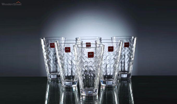 400 ML Bubble Shaped Everyday Glasses - Set of 6-2
