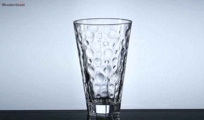 400 ML Zig Zag Shape Everyday Glasses - Set of 6-3