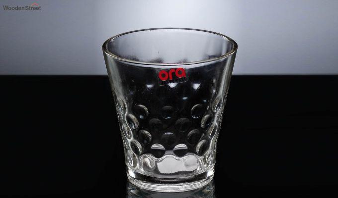 Stoneware 300 ML Ora Bubble Shape Everyday Glasses - Set of 6-3