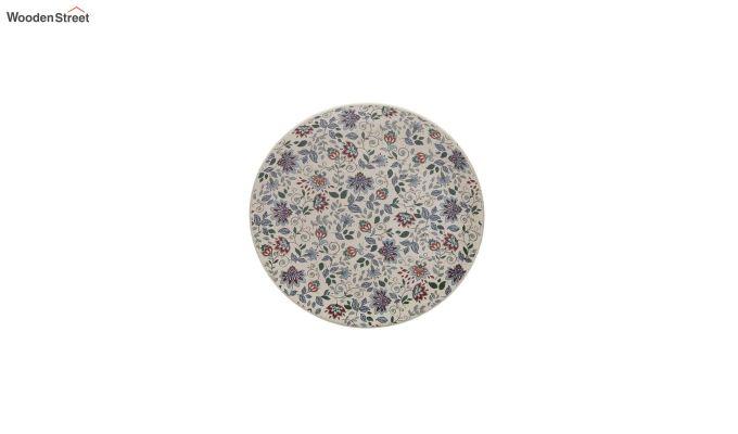 Ceramic Handcrafted Muliticolour Stoneware Dinner Plates - Set of 4-3