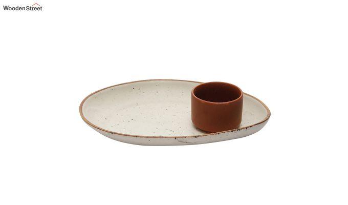 Ceramic Oval Platters - Set of 2-2