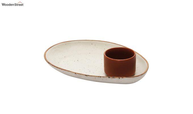 Ceramic Oval Platters - Set of 2-3