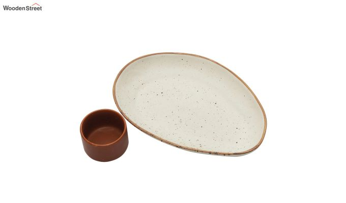 Ceramic Oval Platters - Set of 2-5