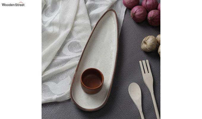 Ceramic Round Platters - Set of 2-1