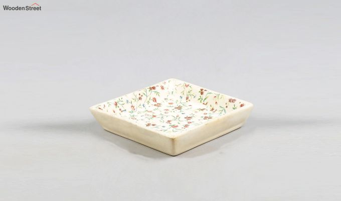 Stoneware Square Platters - Set of 2-3