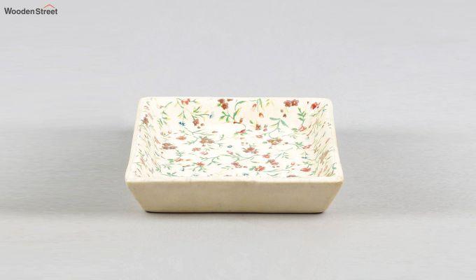 Stoneware Square Platters - Set of 2-4