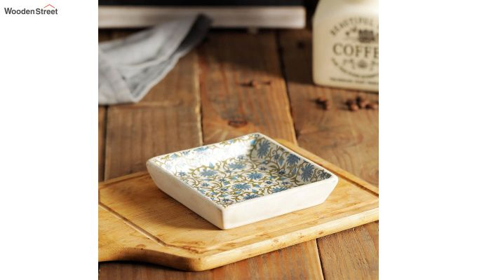 Wooden Square Platters - Set of 2-1