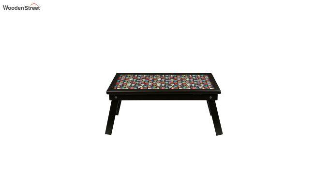 MDF Floral Pattern Wooden Adjustable Tray-3