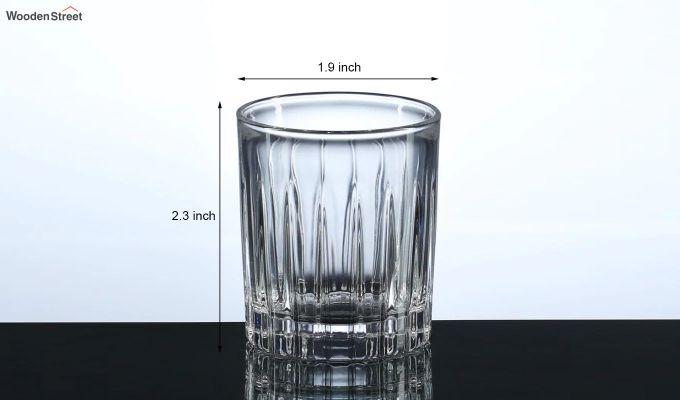 50 ML Burg Shot Glasses - Set of 6-5