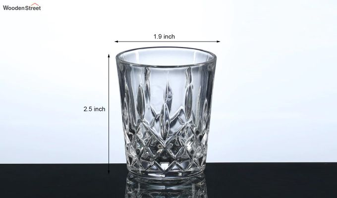 50 ML Conical Shaped Shot Glasses - Set of 6-5