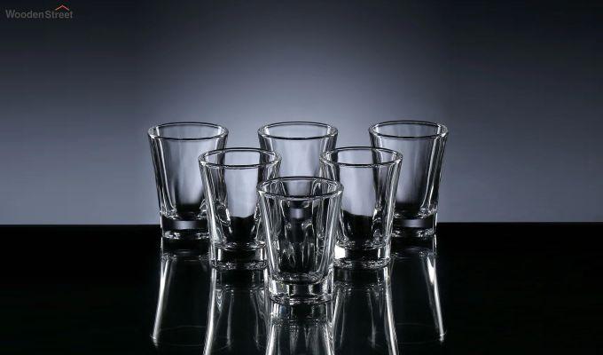 50 ML Premium Quality Shot Glasses - Set of 6-2