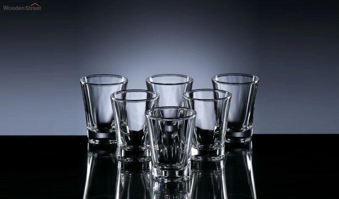 50 ML Premium Quality Shot Glasses - Set of 6-3