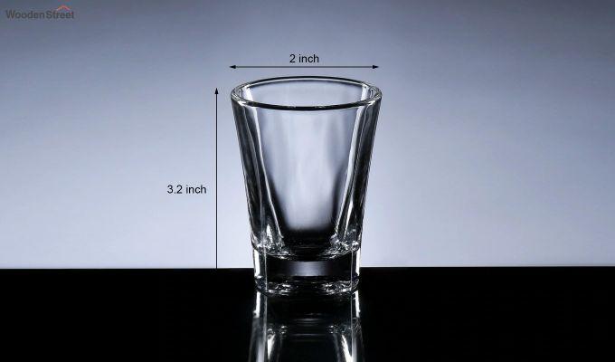 50 ML Premium Quality Shot Glasses - Set of 6-5