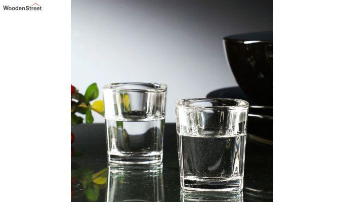 50 ML Square Shaped Shot Glasses - Set of 6-1