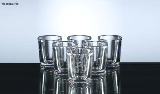 50 ML Square Shaped Shot Glasses - Set of 6-2